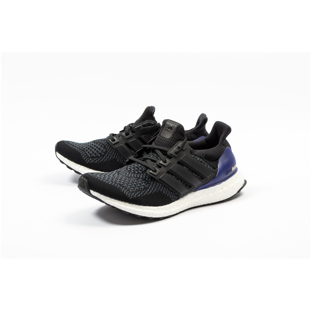 sports shoes dd277 21fcd Adidas Ultra Boost OG 1.0 黑 紫 初代 復刻 馬牌底 慢跑 輕量 G28319 IMPACT