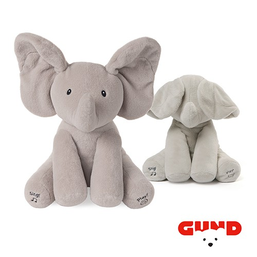 美國GUND 小象躲貓貓音樂互動玩偶