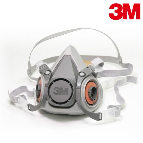 3M 6200 半面罩防毒口罩 防毒面具 可用於搭配多種濾罐