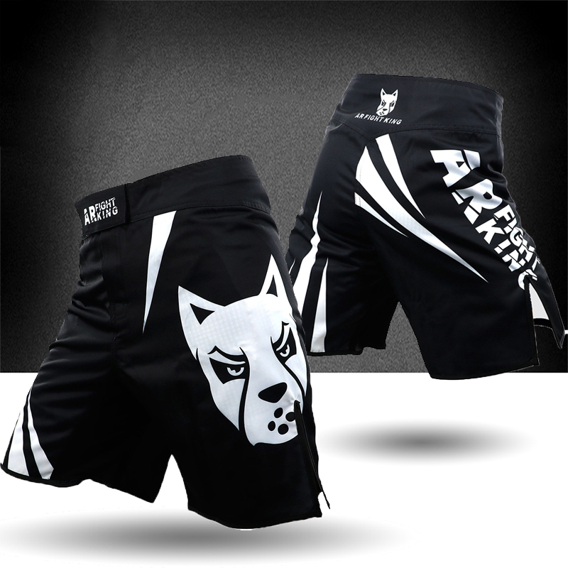 ARFIGHTKING搏擊健身運動挑戰短褲MMA泰拳散打格鬥訓練武林風男