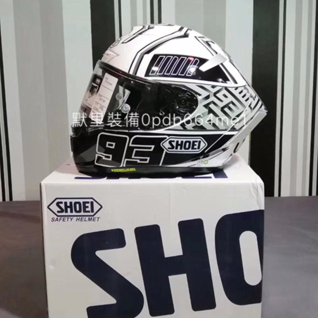 日本原裝 SHOEI X14 X-14 白 白螞蟻 全罩式 安全帽 X-FOURTEEN 現貨實拍 機車帽