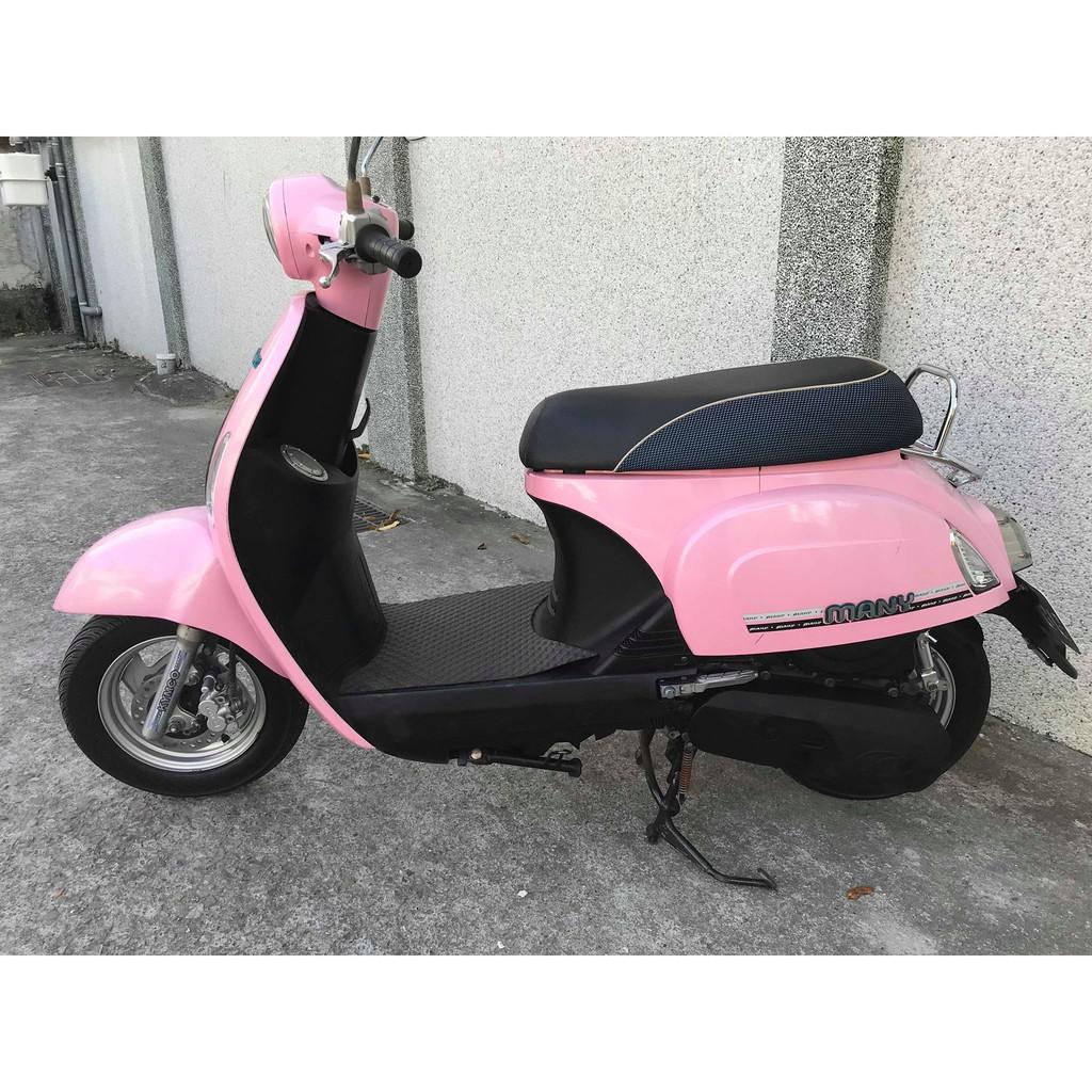 【幽浮二手機車】KYMCO Many110 粉紅色 2010 【999元牽車專案開跑 】