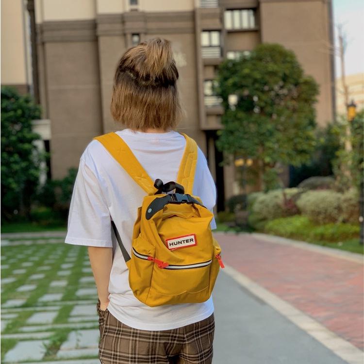 牛二妹優選《》HUNTER小號後揹包英國潮牌網紅休閒學生包時尚輕便迷你揹包包