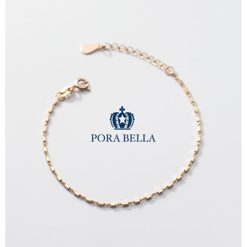 Porabella925純銀手鍊 幸運手鏈 銀手鍊 純銀手鏈 首飾 銀飾 Bracelet VIP尊榮包裝1件免運