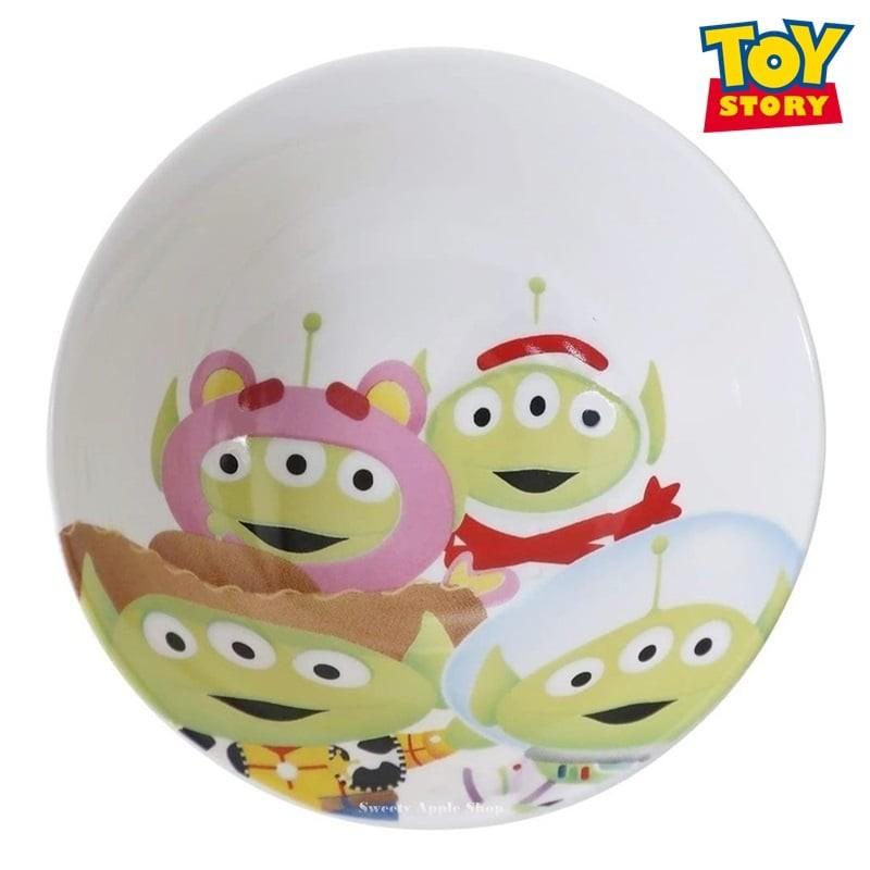 迪士尼【TW SAS日本限定】玩具總動員 三眼怪 變裝大集合版 陶瓷 飯碗/餐碗