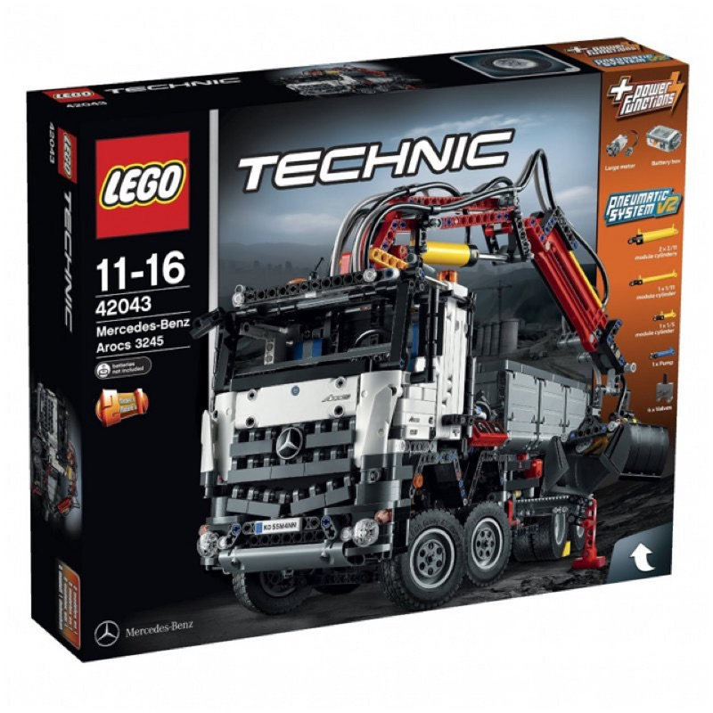 二姆弟 樂高/Lego TECHNIC 42043 賓士卡車