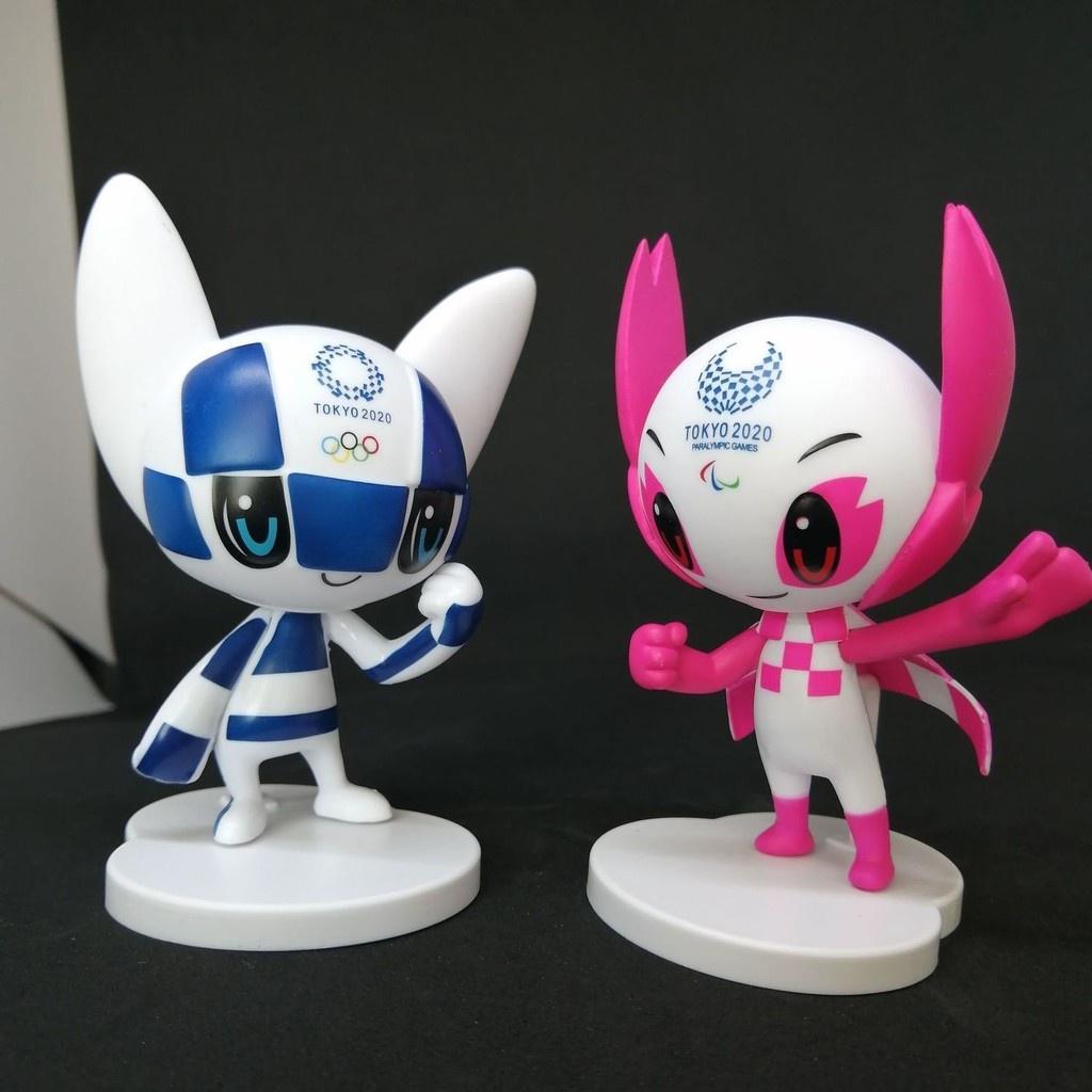 現貨 東京奧運 東京奧運紀念品手辦 2021東京奧運會吉祥物 日本賽事紀念品手辦模型 東京奧運會