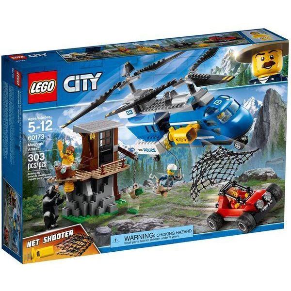 LEGO 60173 CITY 山路追捕
