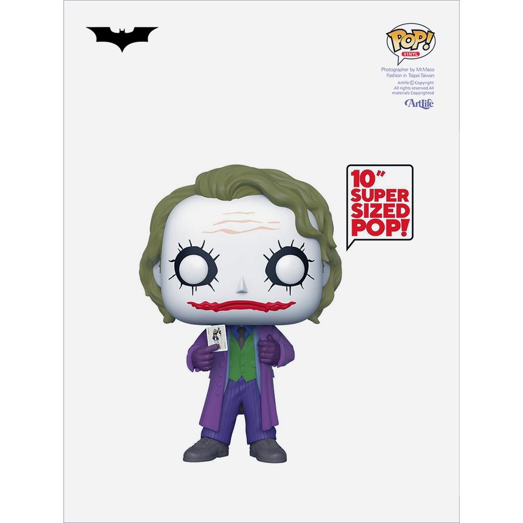 """Artlife ㊁ FUNKO POP DC Batman Dark Knight JOKER 10"""" 蝙蝠俠 小丑"""