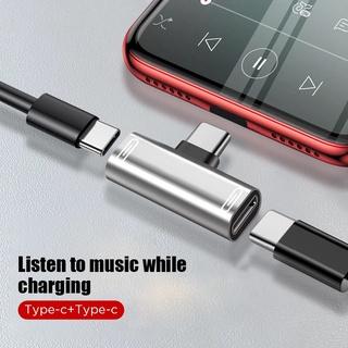 【24小時出貨】TYPE-C 耳機分接頭 音頻轉接頭 聽歌充電兩不誤 二合一3.5mm音頻轉換器