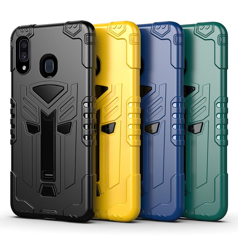 三星手機殼 Note10 S10E S20 Ultra S20Plus S20 S10Plus S10鎧甲防摔保護殼