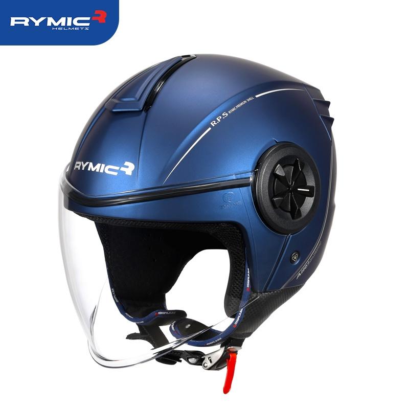 半罩式安全帽 安全帽 RYMIC 851city11  3C認證 可拆洗內襯 眼鏡槽