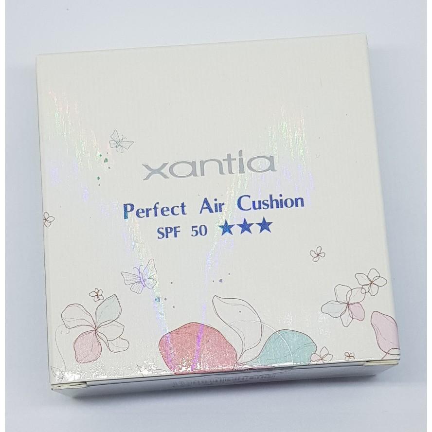 ★Xantia完美晶燦 舒芙蕾水凝霜 SPF50★自然色  保濕款 氣墊粉餅  桑緹亞台灣品牌