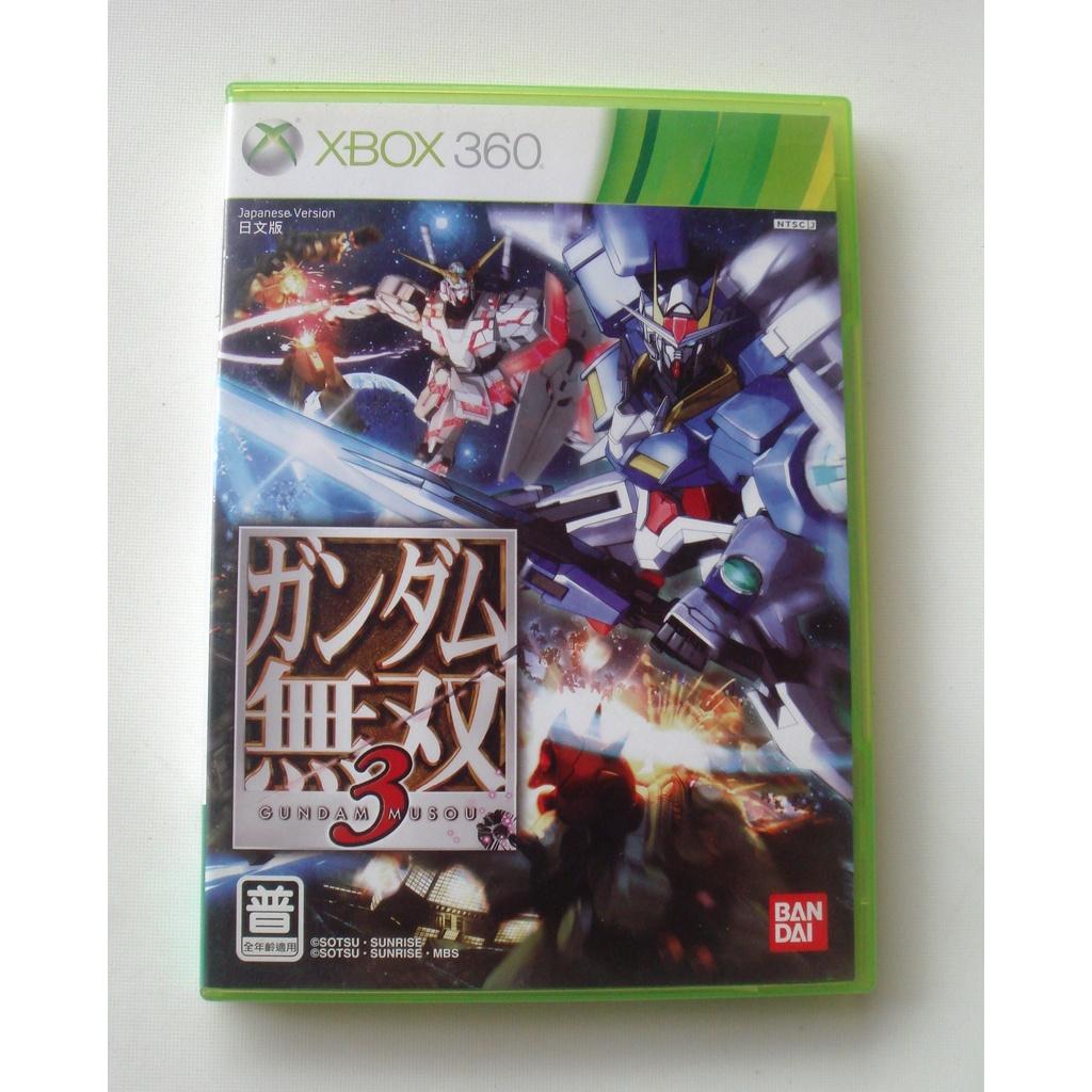 XBOX360 X360 鋼彈無雙3 日文版 Gundam 3