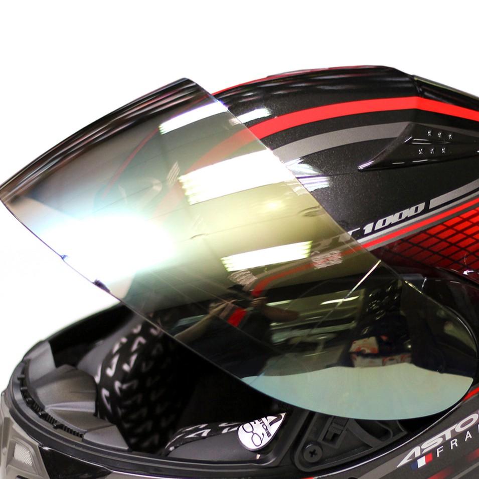 【ASTONE】ROADSTAR 808 專用鏡片(電鍍銀/電鍍金/電鍍五彩) 全罩 配件