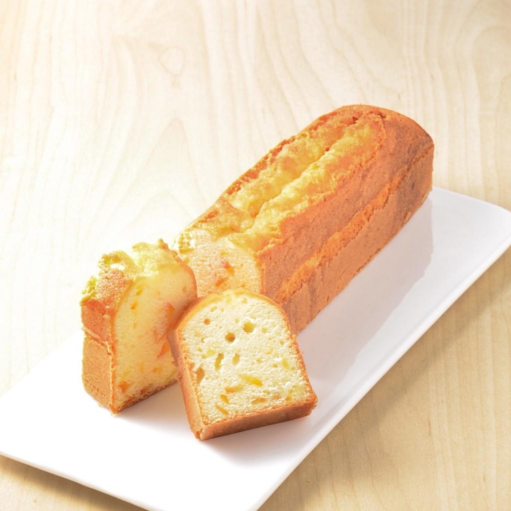 [久久津乳酪] 日向橙絲磅蛋糕