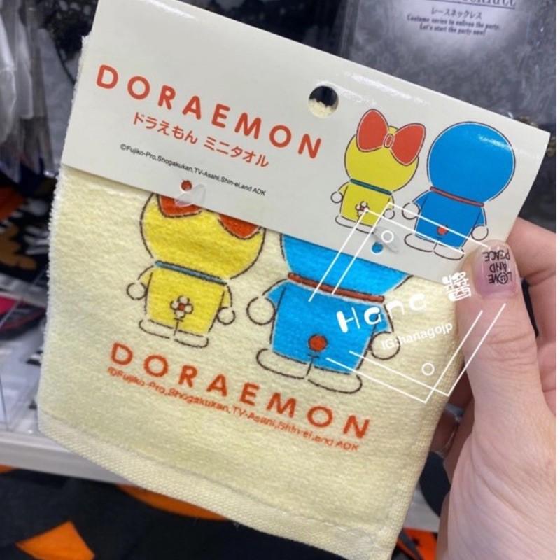 《現貨》日本空運 正版授權 小叮噹 哆啦a夢 毛巾 小方巾 手帕