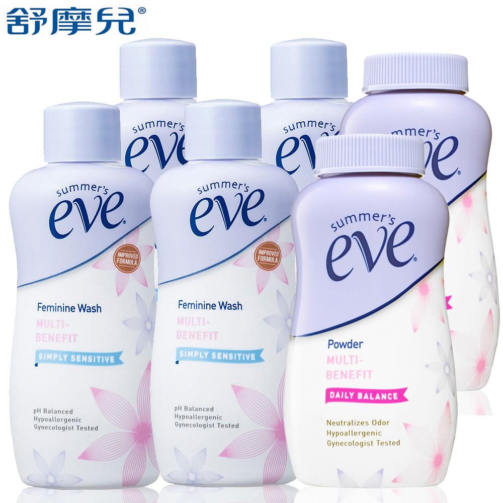 舒摩兒-隨淨乾爽買4送2超值組(美浴全肌59mlx4+SE舒粉57gx2)
