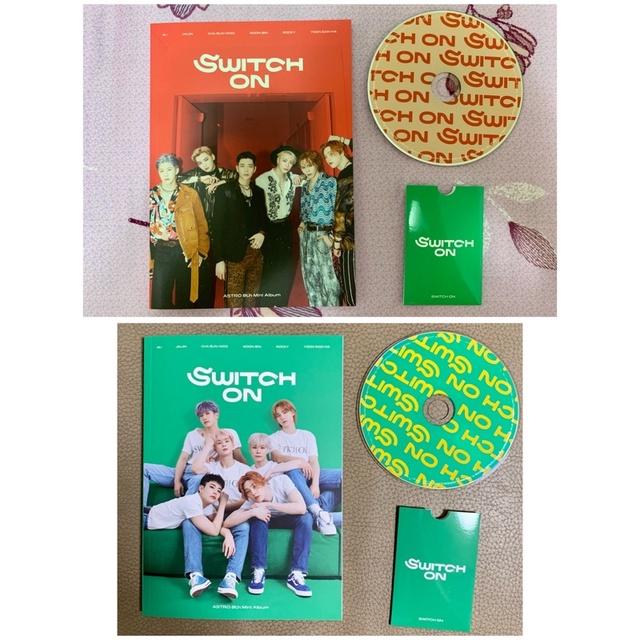 ASTRO迷八專輯「SWITCH ON」寫真書、CD