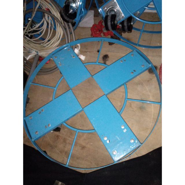 訂製鐵製油桶車50加侖鐵桶適用50加侖塑膠桶適用200公斤鐵桶200公斤塑膠桶移動工具有換過輪子可承受250公斤二手