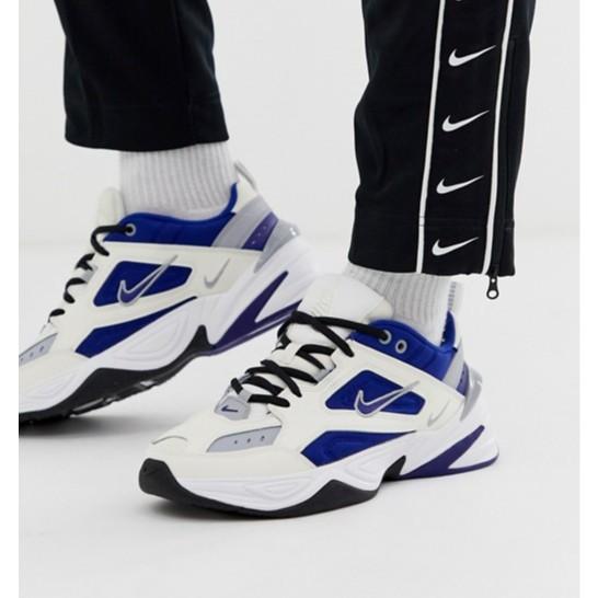 正品 Nike M2K Tekno AV4789-103 灰 藍 白 復古 老爺鞋 慢跑鞋
