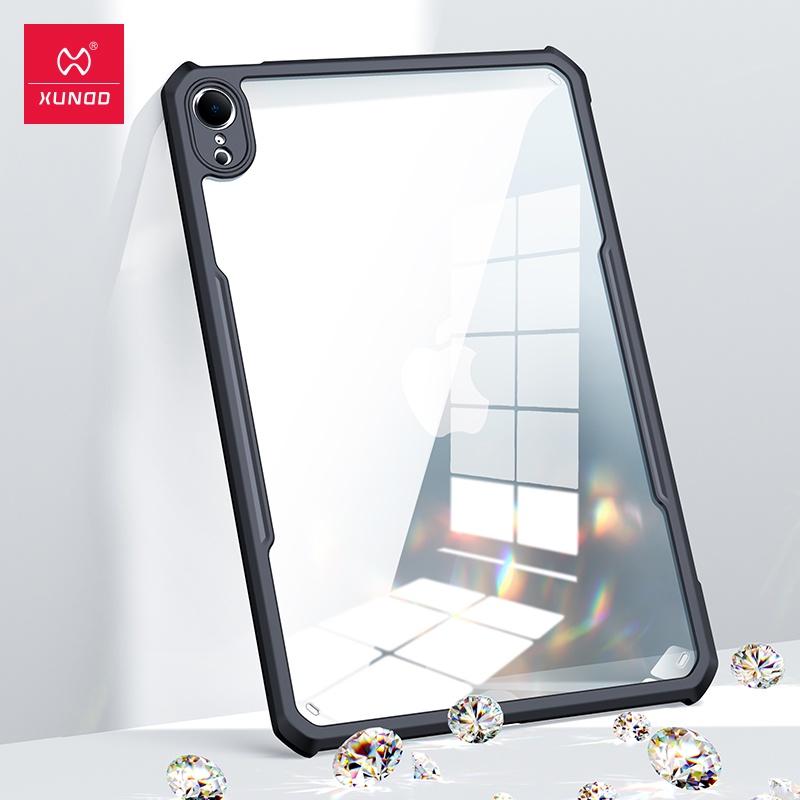 XUNDD 訊迪 耐衝擊平板保護套 雙料背蓋 iPad Mini 6 8.3 2021 超薄透明 PC+TPU