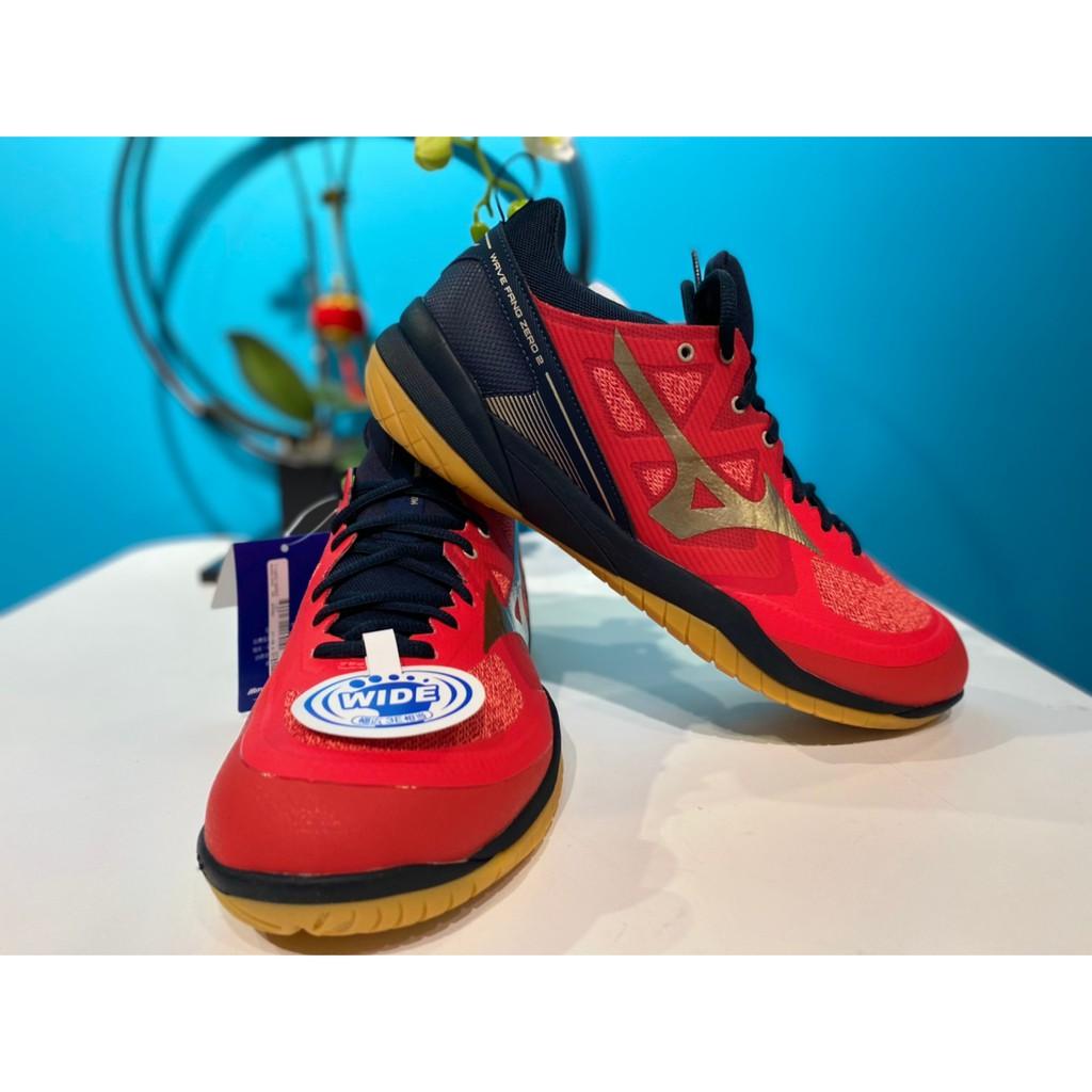 MIZUNO 羽球鞋 WAVE FANG ZERO 2  寬楦頭71GA219050群岳羽球概念館(附發票)