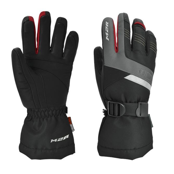 M2R G-21 黑紅 冬季 防水 防寒 手套 羊皮 可觸控 長版手套 G21