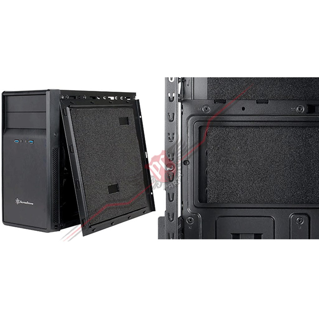 Silverstone SST-PS09B Micro ATX Mid Tower Case