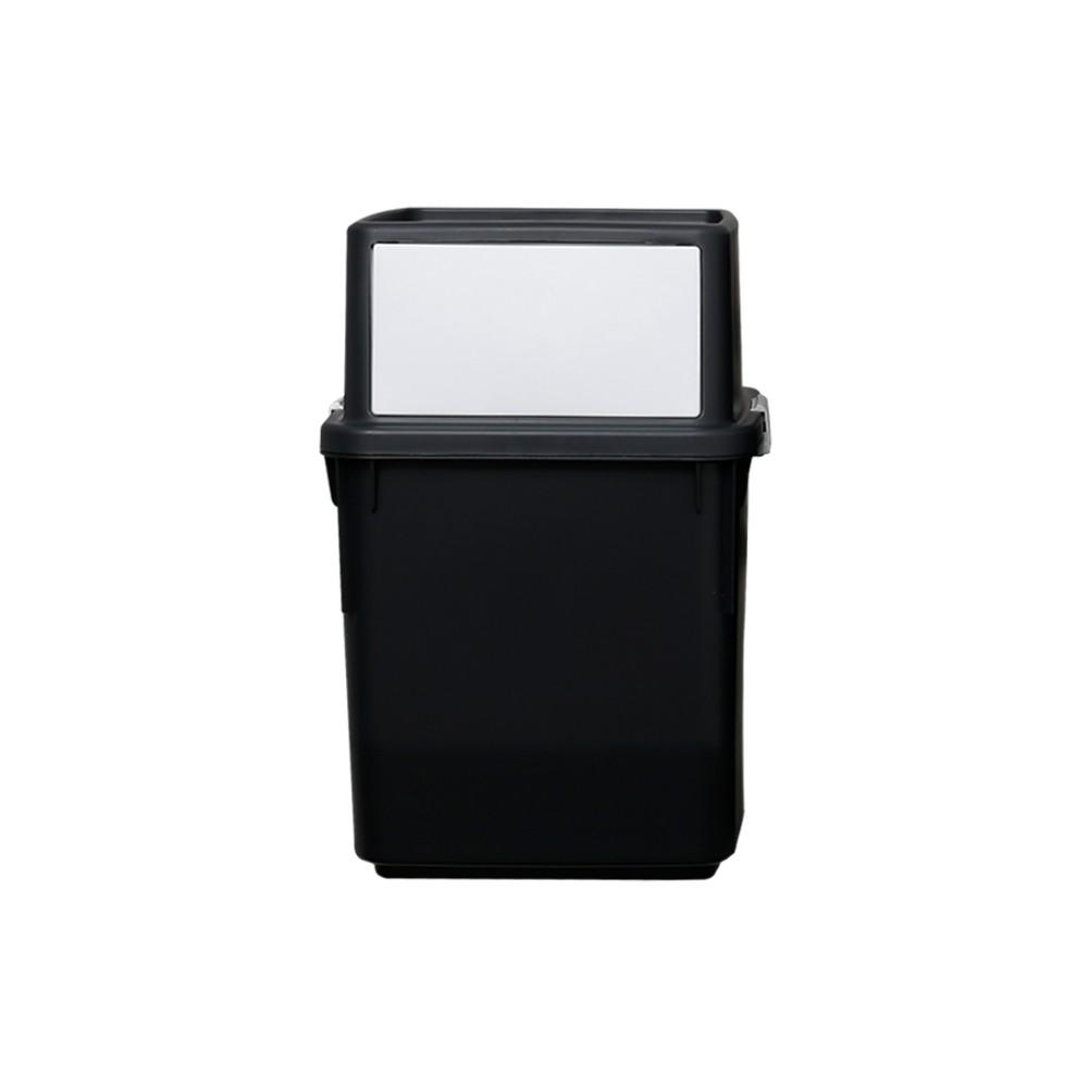 完美主義│Ordinary 簡約前開式回收桶35L(兩色) 韓國製 垃圾桶 收納箱 回收桶 收納盒【G0021】