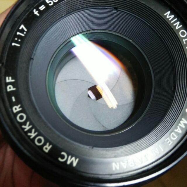 鏡頭 手動  minolta 50mm f1.7