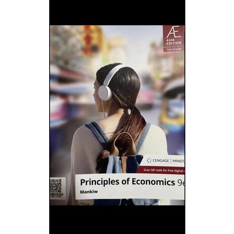 Principles  of Economics 9e Mankiw 經濟學原文書 二手 書況很好