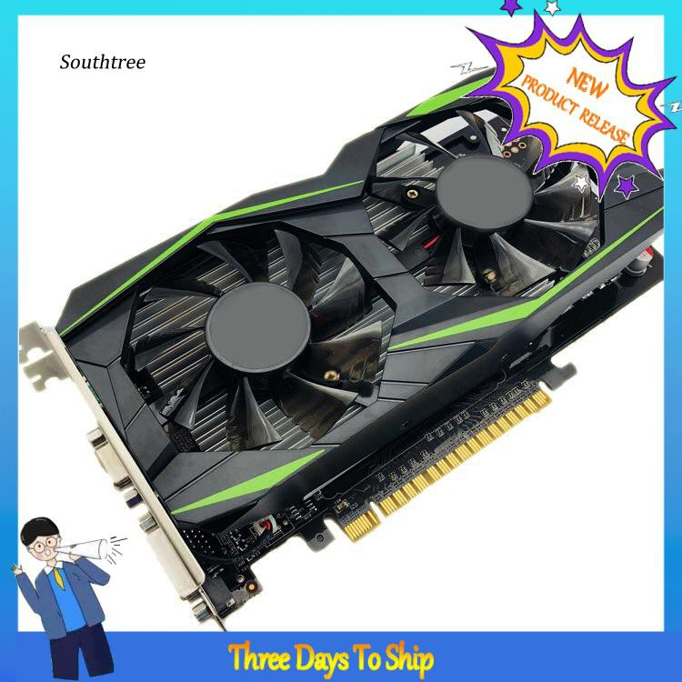 Lyy _ Gtx 1050TI 4GB DDR5 128bit 台式計算機 PC 高清遊戲視頻圖形卡