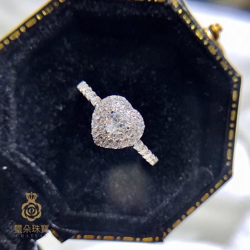 璽朵珠寶 [ 18K金 15分 心型 鑽石戒指 ] 微鑲工藝 精品設計 鑽石權威 婚戒顧問 婚戒第一品牌 鑽戒 GIA