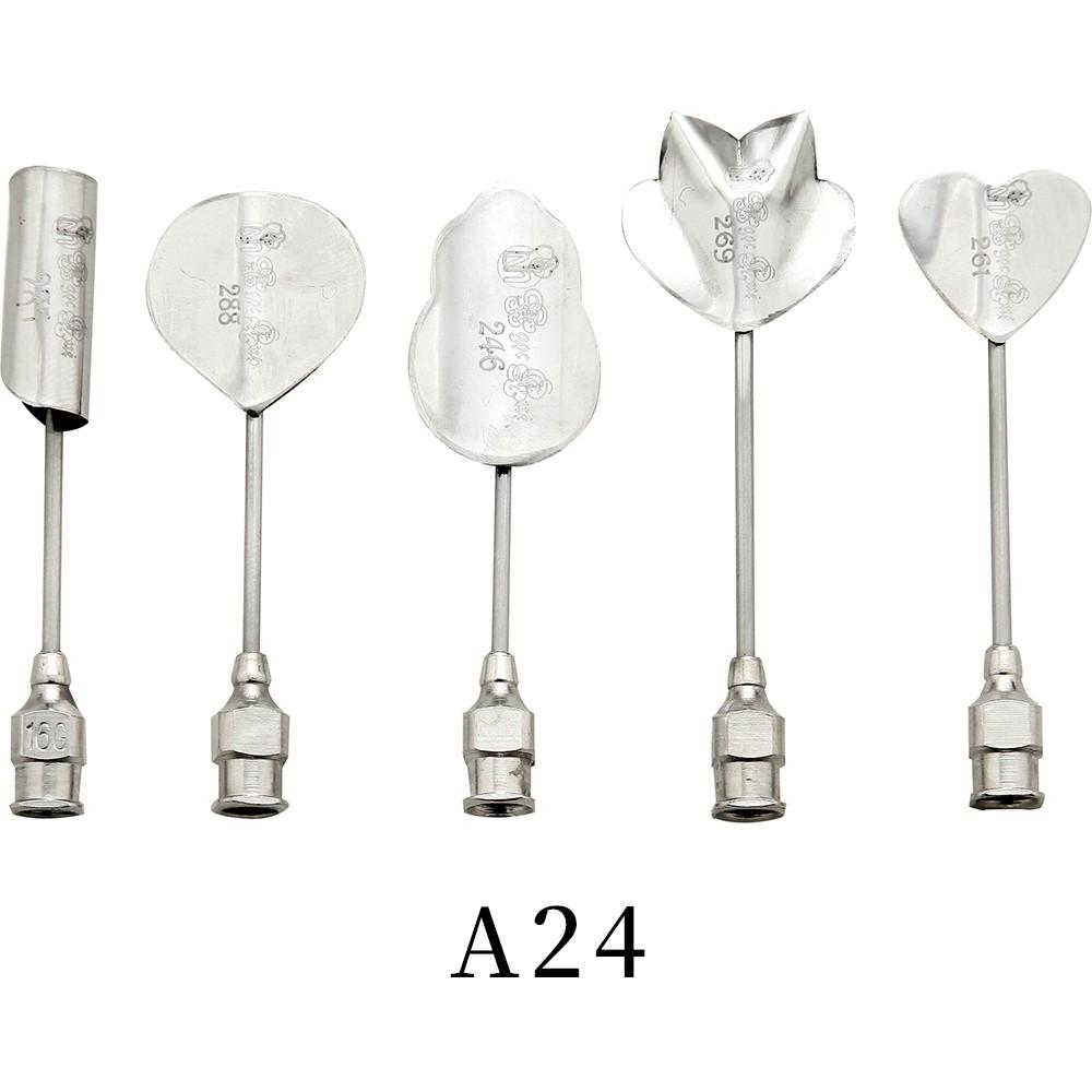 優果《越南進口不鏽鋼果凍花針A24》每組內含5支針