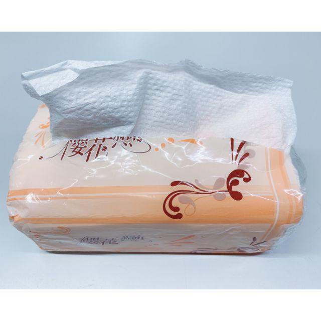 (現貨)櫻花戀抽取式衛生紙 100抽 一箱48包