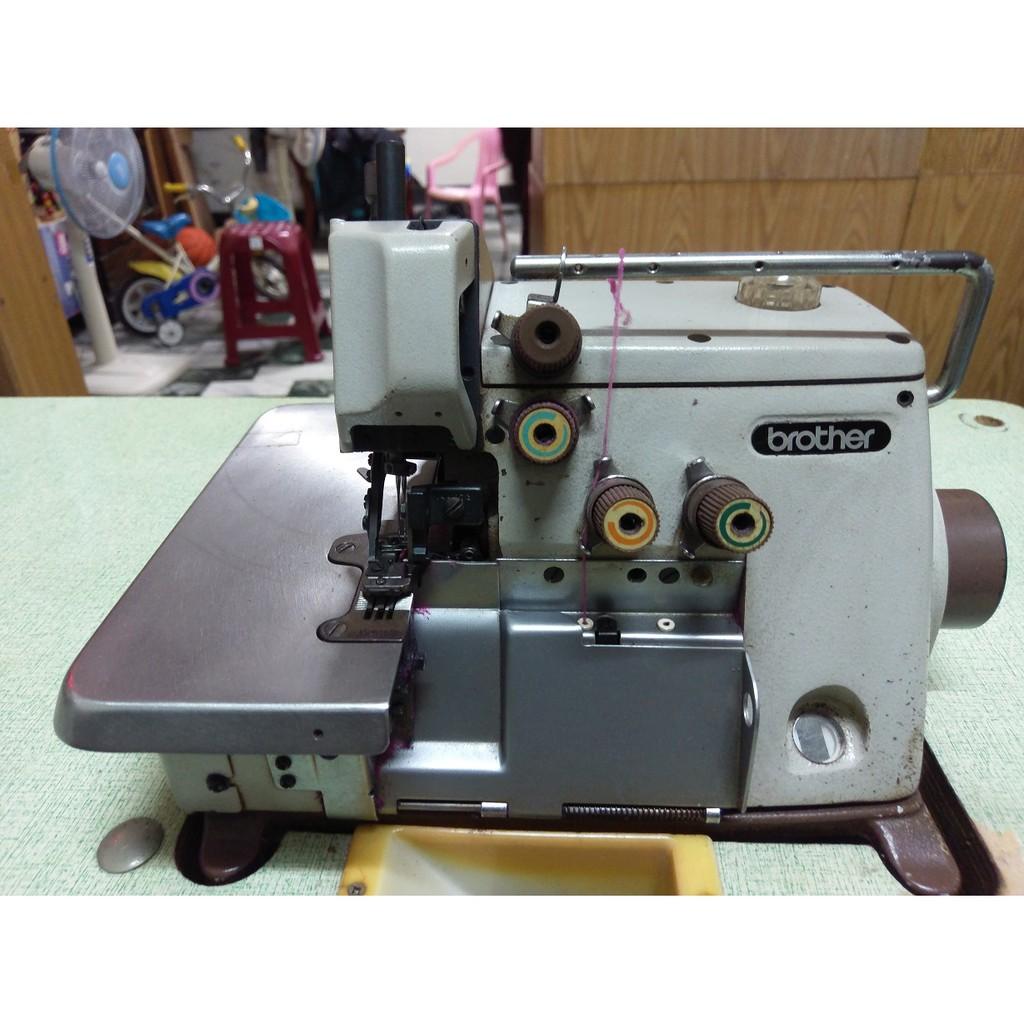 二手兄弟牌brother EF4-B531 日本原廠製四線拷克機 拷克車 縫紉機 布邊車