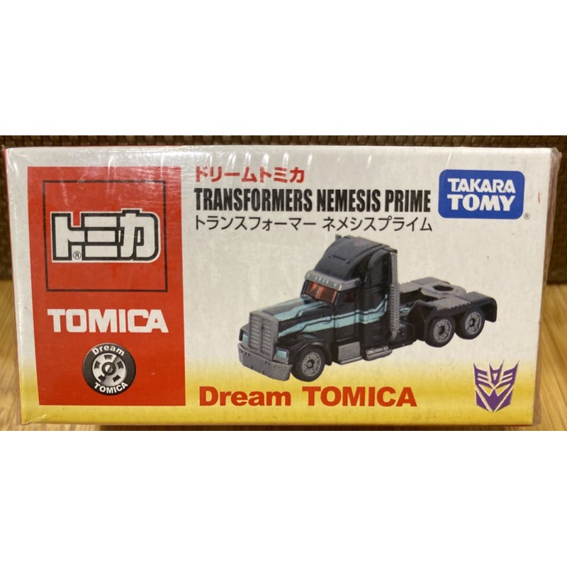 Dream Tomica 變形金剛 nemesis/optimus prime柯博文 大黃蜂black ver