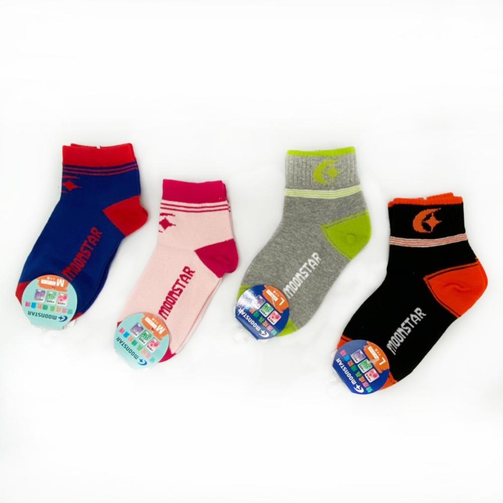 日本月星Moonstar機能童襪  機能棉 童襪(中小童段)