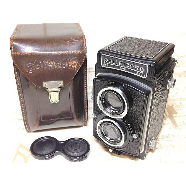 【跳蚤小舖子】Rolleicord IIC Model 4 -----中片幅6x6 120底片 雙眼相機TLR