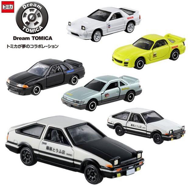 日本TOMY多美卡TOMICA合金車模型 頭文字D藤原拓海AE86 高橋涼介