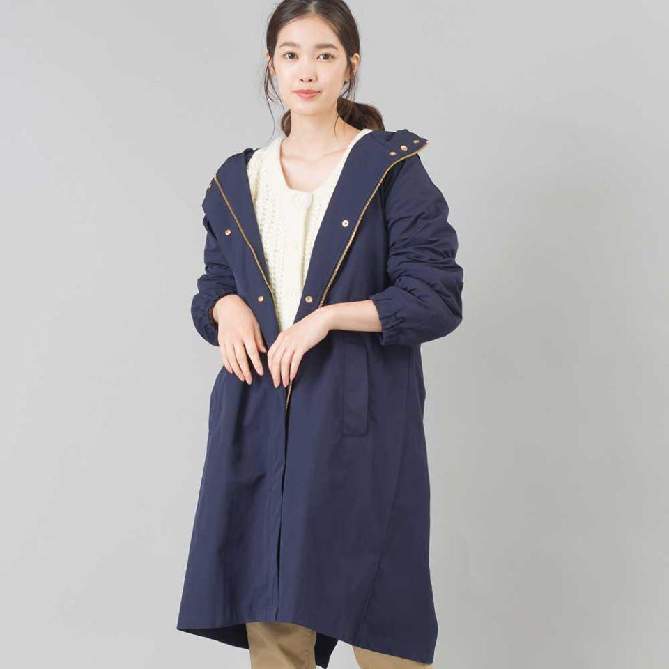 喬依絲💖現貨💖日本 春秋必備 omnes 旗下系列 marle 防潑水機能 連帽 外套 夾克 風衣外套
