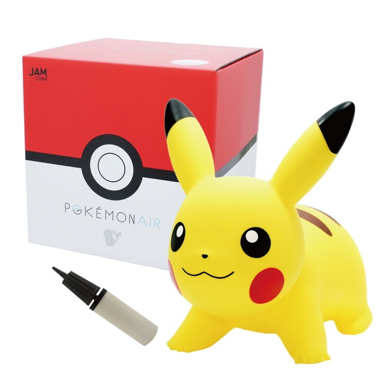 預購 6-7月 聯名款 皮卡丘 跳跳馬 jam corp x Pokemon air 寶可夢 rody
