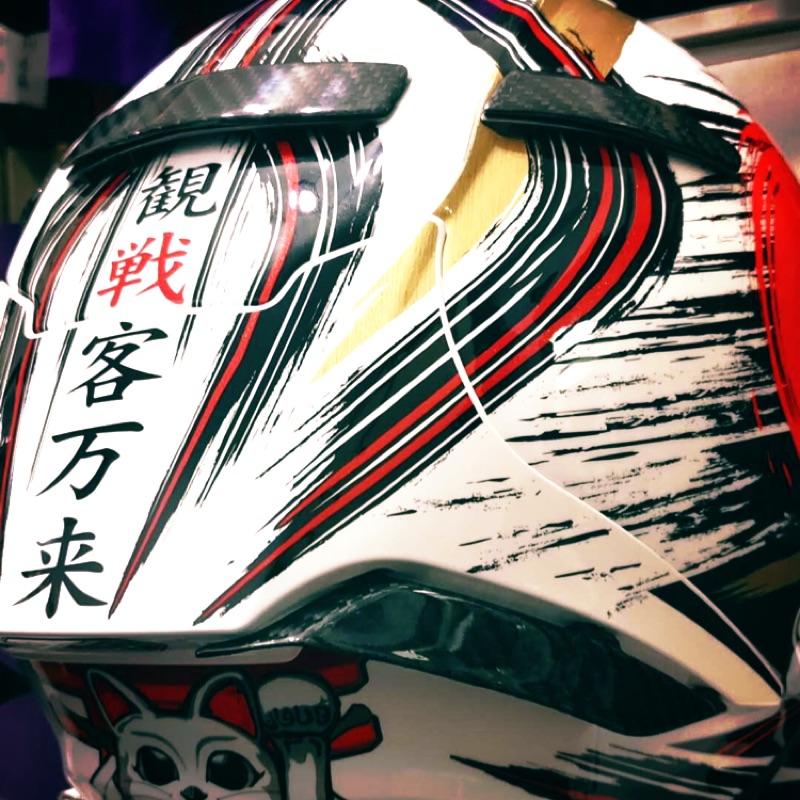 Shoei X14  碳纖維 尾翼 導流 擾流 空力 熱壓 X 14