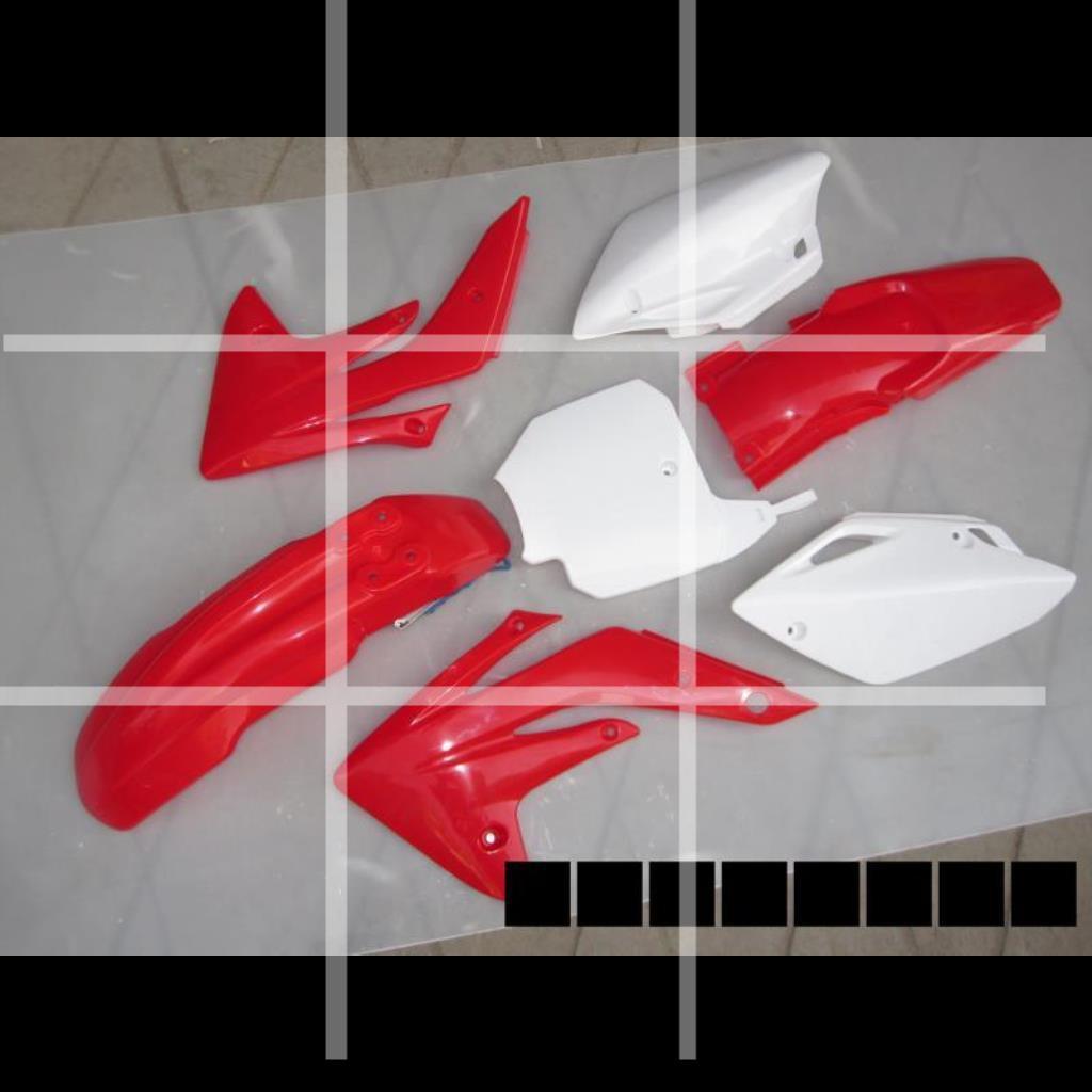 【愛摩者改裝】越野摩托車MX6外殼車殼用于CRF150外殼 用于150外觀件油箱坐墊
