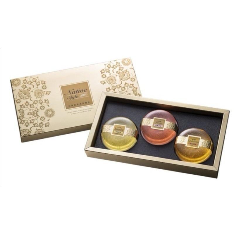 台鹽膠原蛋白黃金皂禮盒(3入)
