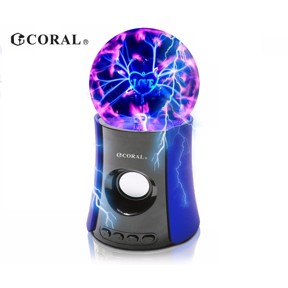 CORAL F1235 - 靜電球藍芽喇叭 魔幻燈光秀