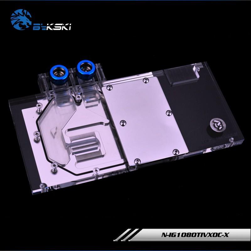 爆款日本進口Bykski N-IG1080TIVXOC-X.七彩虹GTX 1080TI GTX1070Vulcan水冷頭