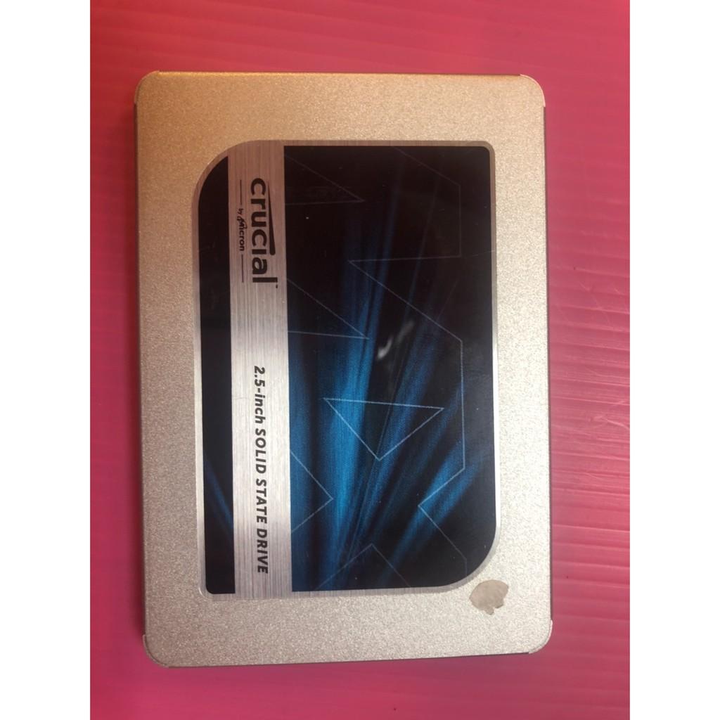 保固內二手美光Micron Crucial MX500 500GB 2.5吋SATAⅢ SSD固態硬碟