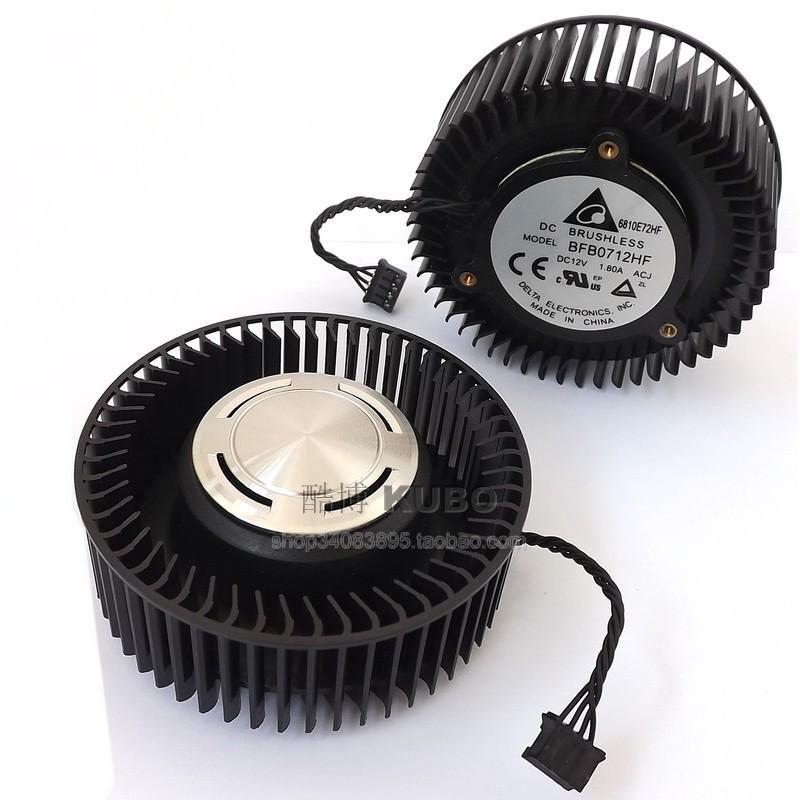 &顯卡風扇 NVIDIA公版GTX960/970/980/1060/1080 RX480顯卡風扇 雙滾珠